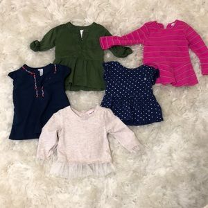 Other - Adorable 12 month size baby tops